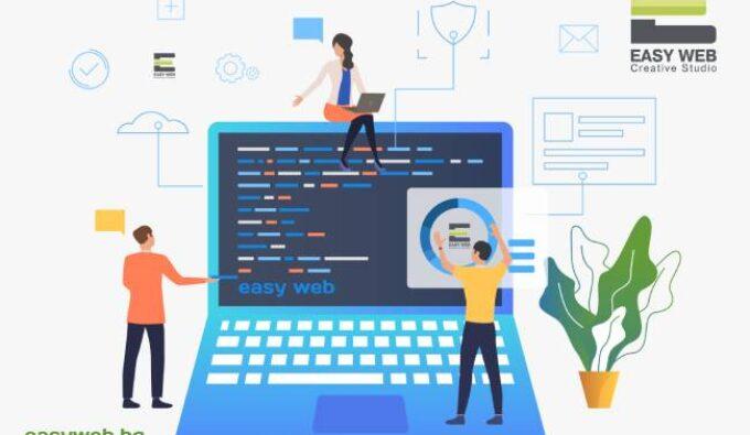 Професионална поддръжка на уебсайт от EASY WEB